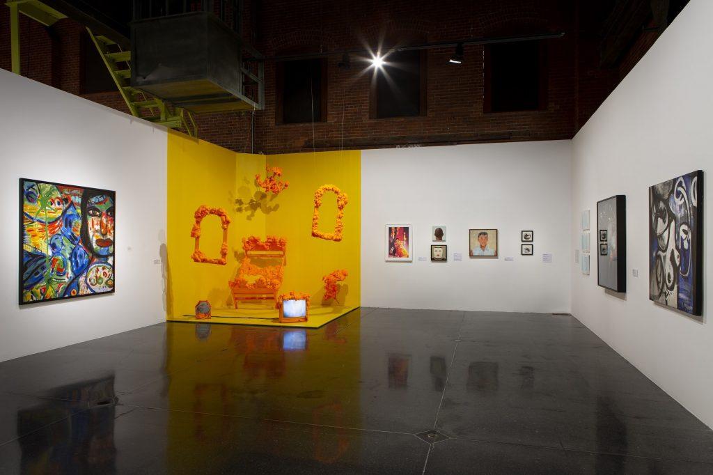Building Bridges in Time of Walls: Chicano/Mexican Art from Los Angeles to Mexico, installation viewCentro de las Artes, Monterrey, Nuevo Leon, March 28 – June 23, 2019.